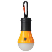 Ace Camp Zelt LED Lampe mit Karabinerhaken orange