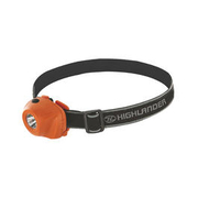 Highlander Stirnlampe Beam 1W LED orange-schwarz