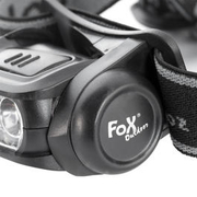 Fox Outdoor LED-Stirnlampe Molle schwarz