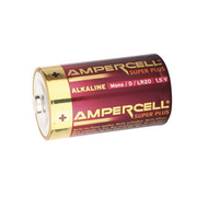 Ampercell Batterien Super Plus Mono D/ LR20 1,5V