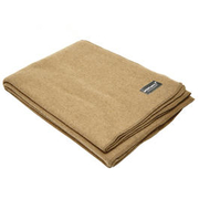 Mountain Hill Wolldecke 225 x 150 cm camel/khaki