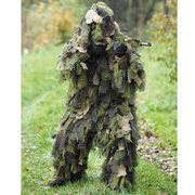 Mil-Tec Tarnanzug Ghillie Suit Oak Leaf 3D 3PC woodland