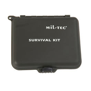 Mil-Tec Survival Kit mit Kunststoffbox oliv