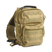 Mil-Tec Rucksack One Strap Assault Pack small 8L coyote