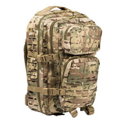 Mil-Tec Rucksack US Assault Pack Laser Cut large 36L multitarn