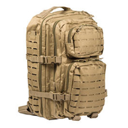 Mil-Tec Rucksack US Assault Pack Laser Cut large 36L coyote