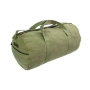 Highlander Reisetasche Crieff Canvas Roll Bag 45L oliv