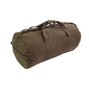 Highlander Reisetasche Crieff Canvas Roll Bag 45L braun