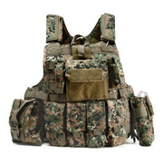 101 INC. Raptor Tactical Vest digital camo