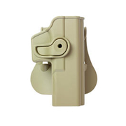 IMI Defense Level 2 Holster Kunststoff Paddle für G 17/22/28/31/34 Tan