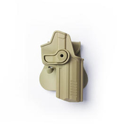IMI Defense Level 2 Holster Kunststoff Paddle für H&K 45/45C tan