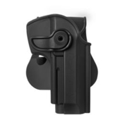 IMI Defense Level 2 Holster Kunststoff Paddle für PT 92 Modelle schwarz