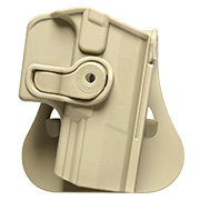 IMI Defense Level 2 Holster Kunststoff Paddle für Walther P99 tan