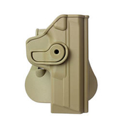 IMI Defense Level 2 Holster Kunststoff Paddle für S&W M&P FS/Compact tan