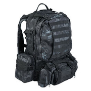 Mil-Tec Rucksack Defense Pack Assembly 36 ltr. mandra night