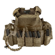 101 INC. Plattenträger Set Tactical Operator coyote