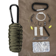 Mil-Tec Paracord Survival Kit small oliv