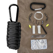 Mil-Tec Paracord Survival Kit small schwarz