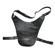 Tatonka Brustbeutel Skin Chest Holster schwarz