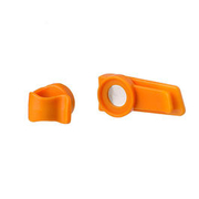 Source Magnet Clip Trinkschlauchfixierung orange