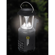 National Geographic Solar Campinglaterne mit Radiofunktion
