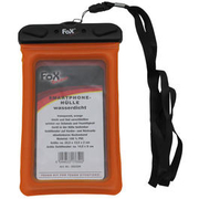 Fox Outdoor Smartphonehülle wasserdicht transparent / orange