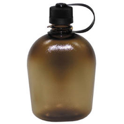 MFH US Feldflasche 1 Liter coyote / transparent