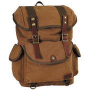 Pure Trash Rucksack Canvas PT braun