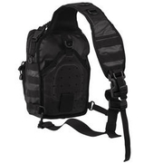 Mil-Tec Rucksack One Strap Assault Pack small 10 Liter tactical black