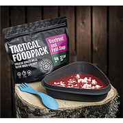 Tactical Foodpack Outdoor-Nahrungsmittel Rote-Beete-Suppe mit Feta 60 g Beutel