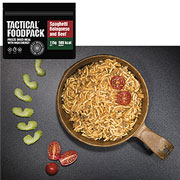 Tactical Foodpack Outdoor-Nahrungsmittel Spaghetti Bolognese 115 g Beutel