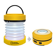 National Geographic LED-Laterne mit Dynamo