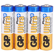 GP Batterie LR6 AA Mignon Ultra Plus 4 Stück