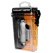 True Utility Sturmfeuerzeug TU407 TurboJet Lighter silber