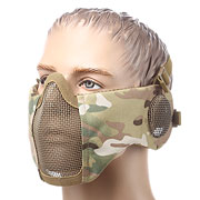 ASG Strike Systems Mesh Mask Gittermaske Full Lower Face mit Ohrabdeckung MC