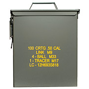 Mil-Tec Munitionskiste US Ammo Box Steel M19A1 cal. 50 large
