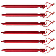 Basic Nature Zelthering Y-Stake 18 cm rot 5er Pack