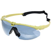 Nuprol Battle Pro Protective Airsoft Schutzbrille oliv / rauch