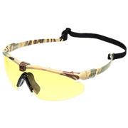 Nuprol Battle Pro Protective Airsoft Schutzbrille camo / gelb