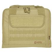 Nuprol PMC Deluxe Single Pistol Case / Tasche 36 x 28,5 x 4 cm tan