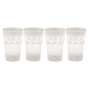 Outwell Outdoor Becher-Set Orchid 4 Stück Glas-Optik