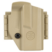 IMI Defense MORF Micro Polymer Holster IWB / OWB / Paddle für Sig Sauer P365 Rechts / Links Tan