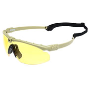 Nuprol Battle Pro Protective Airsoft Schutzbrille oliv / gelb