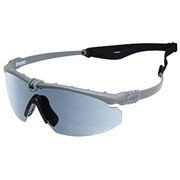 Nuprol Battle Pro Protective Airsoft Schutzbrille grau / rauch