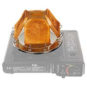 MFH Camping Toaster Edelstahl mit Zange