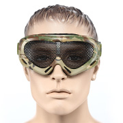 Nuprol Brille Pro Mesh Eye Protection Airsoft Gitterbrille camo