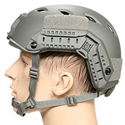 nHelmet FAST BJ Maritime Railed Airsoft Helm mit NVG Mount Foliage Green
