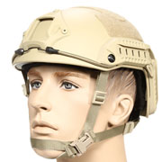nHelmet FAST Maritime Standard Railed Airsoft Helm mit NVG Mount Dark Earth