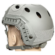nHelmet FAST PJ Maritime Railed Airsoft Helm mit NVG Mount Foliage Green