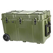 Nuprol Kit Box / Ultimate Hard Case Transport-Trolley 86 x 46 x 53 cm oliv